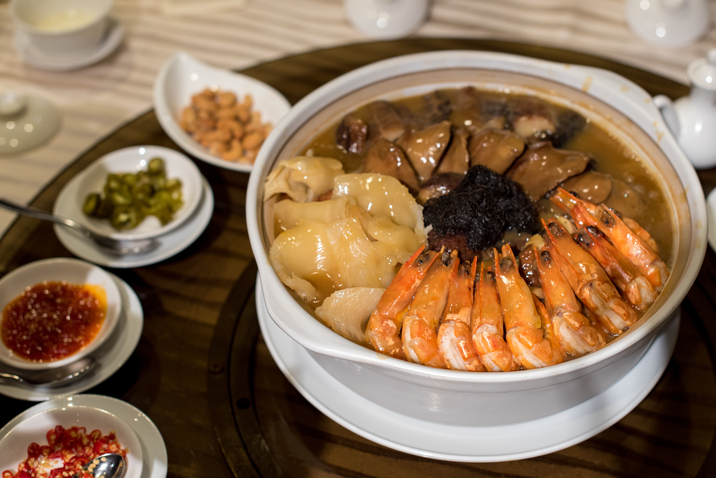 Wan Hao Deluxe Pen Cai    Wan Hao - Singapore Marriott Tang Plaza Hotel