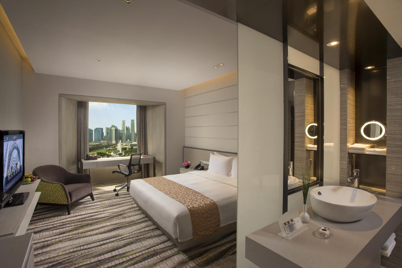 Deluxe Room | Photo Credit: Carlton Hotel Singapore