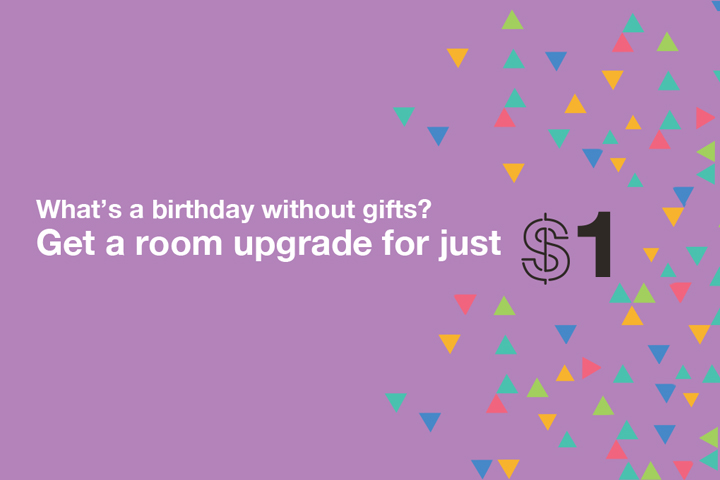 Hotel Jen $1 Upgrade (First Anniversary) | Photo Credit: Hotel Jen