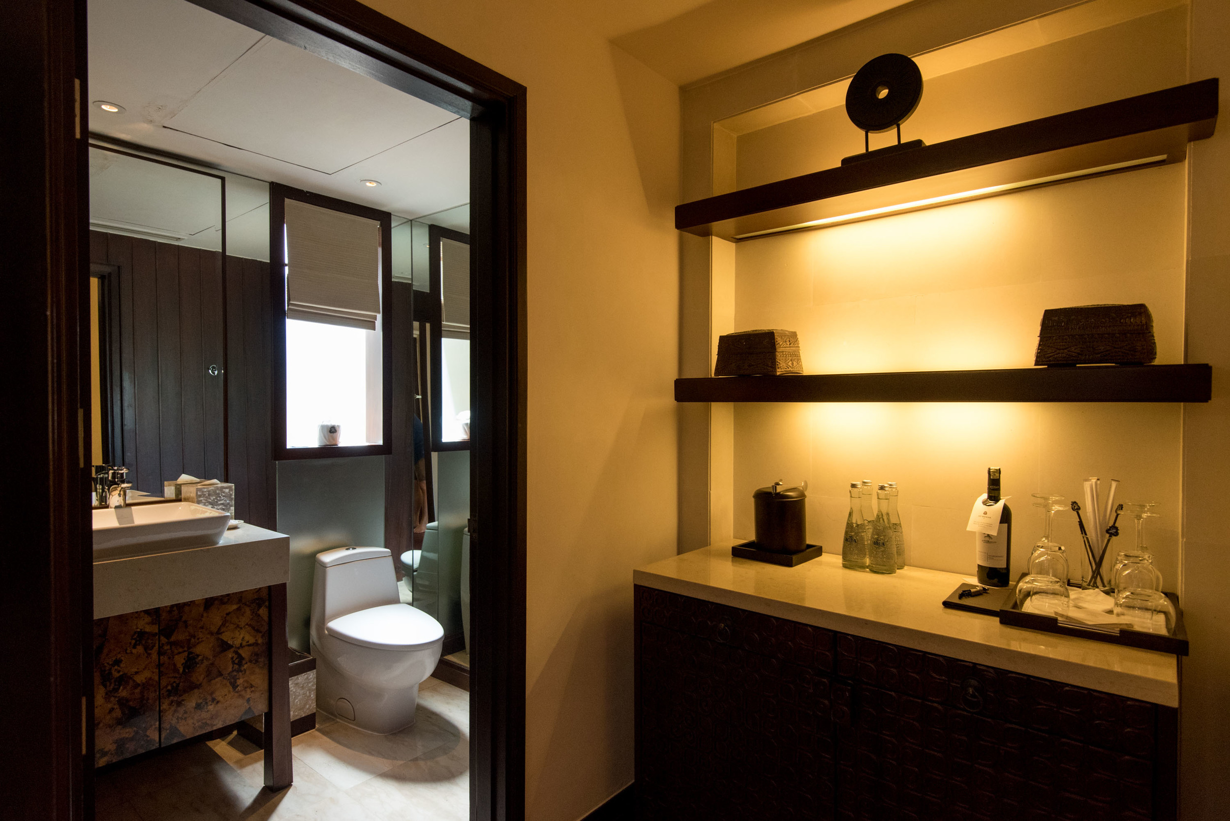 Guest Bathroom  The St. Regis Bali Resort