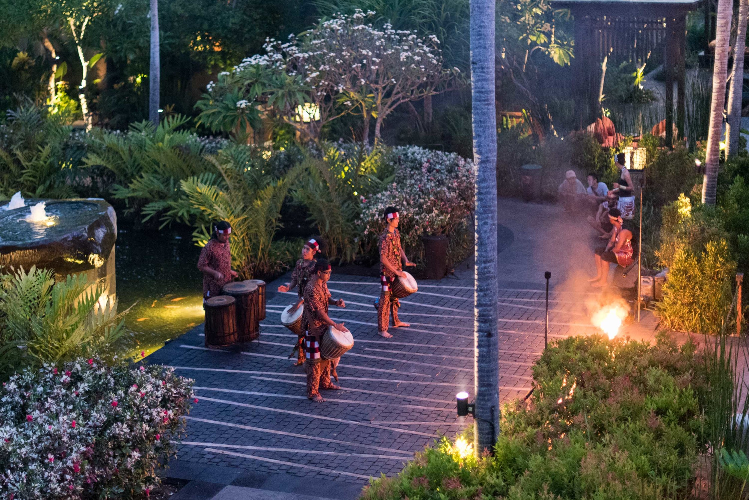Daily Evening Fire Ritual  The St. Regis Bali Resort