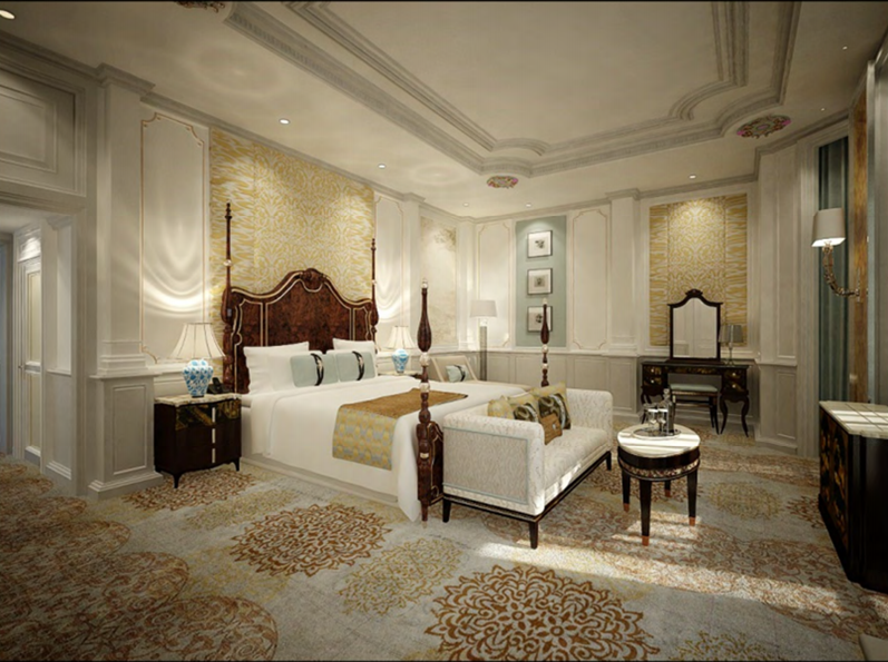 Presidential Suite   Photo Credit: InterContinental Singapore