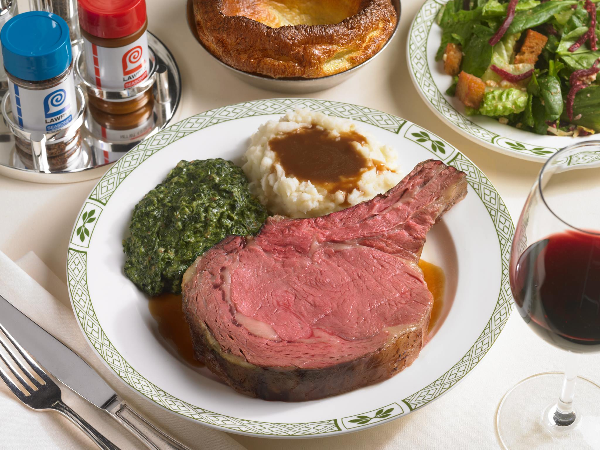 Bone-in Roasted Beef | Photo Credit: Lawry's The Prime Rib