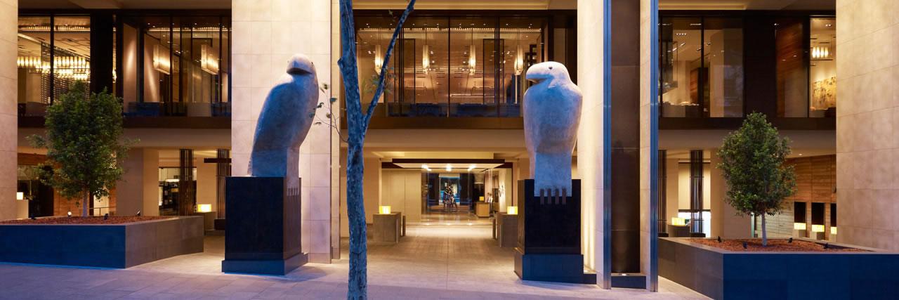 Hotel Entrance | Photo Credit: Grand Hyatt Melbourne