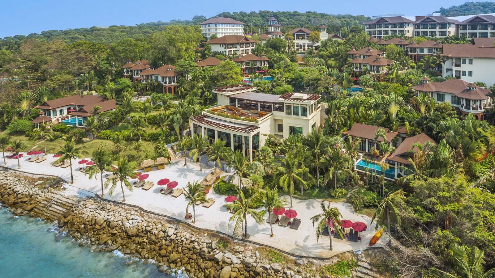 Aerial View of the Resort | Photo Credit:InterContinental Pattaya Resorts