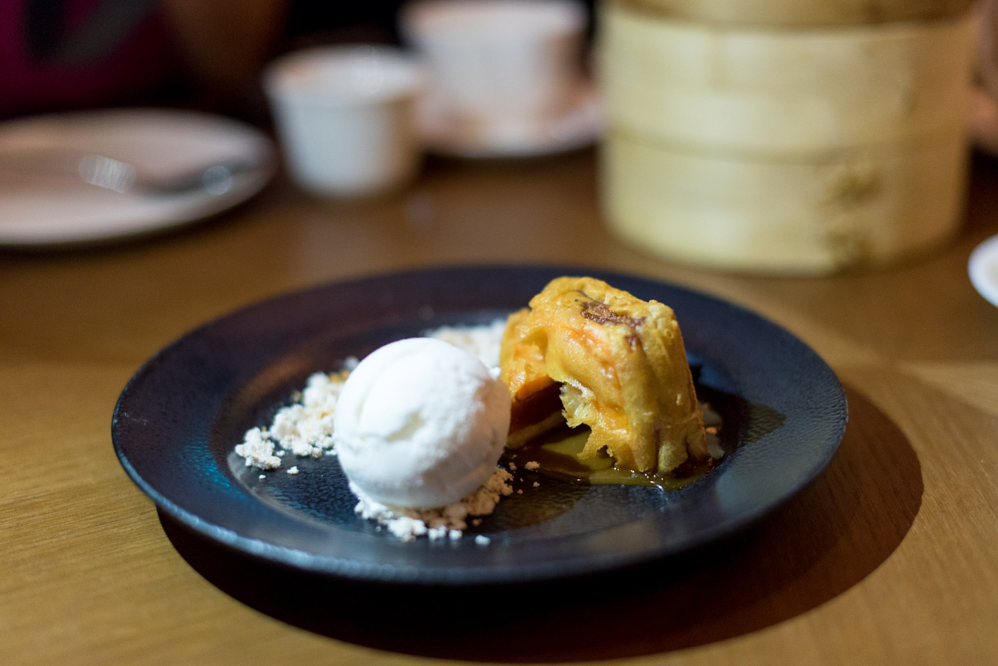 Crispy Prosperity Nian Gao, Yam & Sweet Potato Stack (S$12++)  EMPRESS by The Privé Group