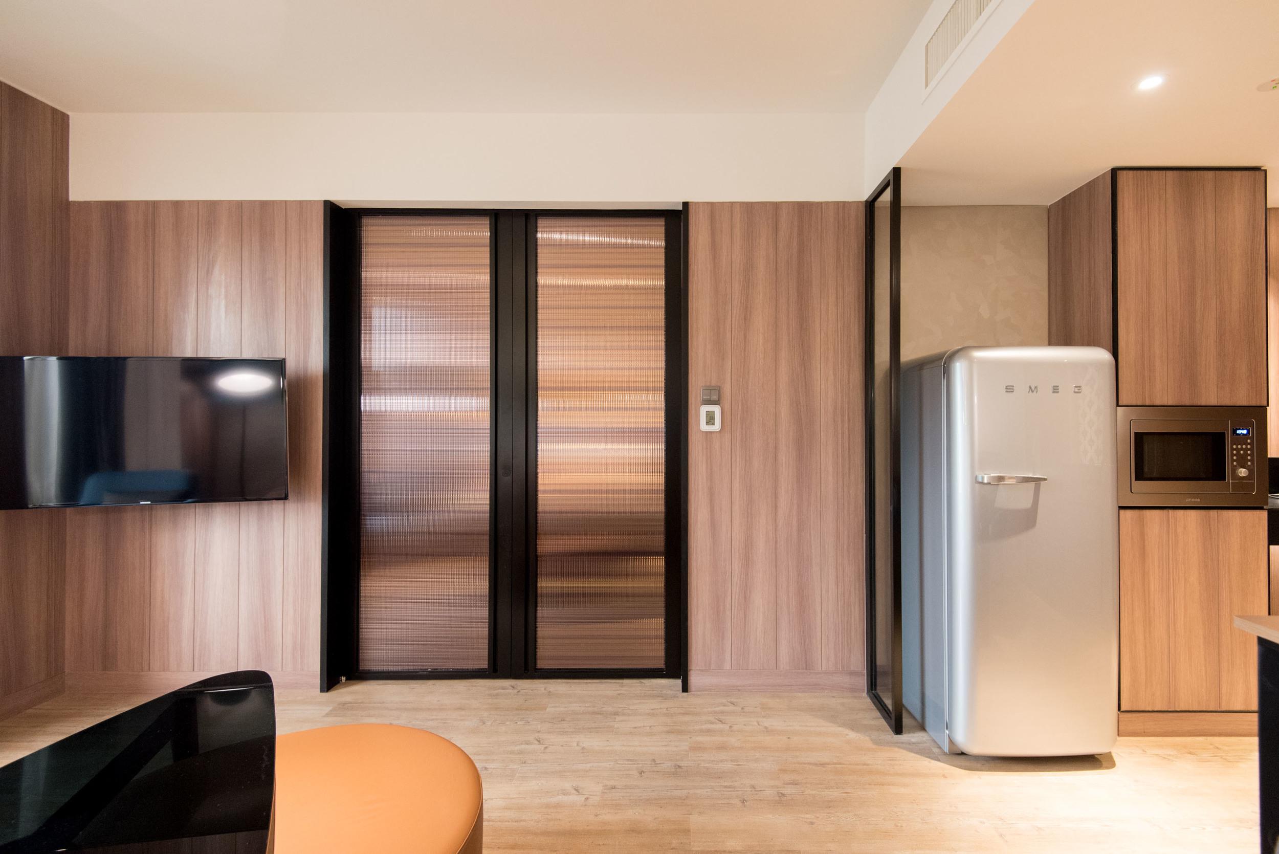 Executive Suite - Living Room  Hotel Jen Tanglin Singapore