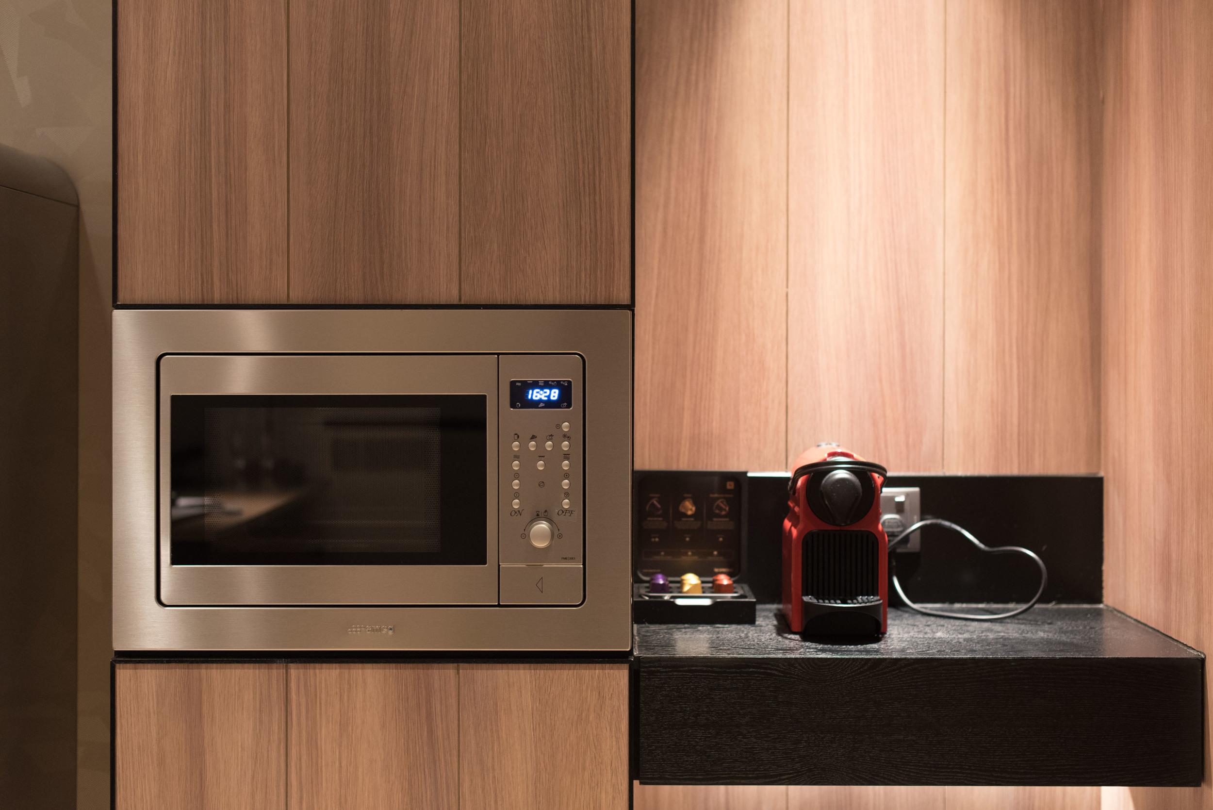 Executive Suite - Microwave and Nespresso Machine  Hotel Jen Tanglin Singapore