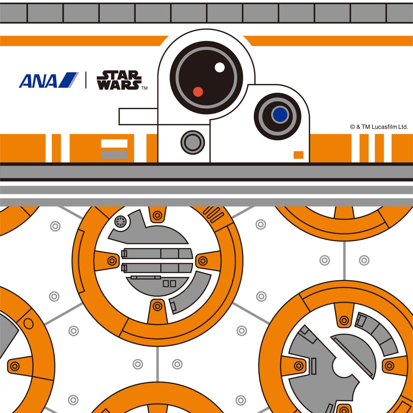 BB-8™ ANA JET   Photo Credit: ANA