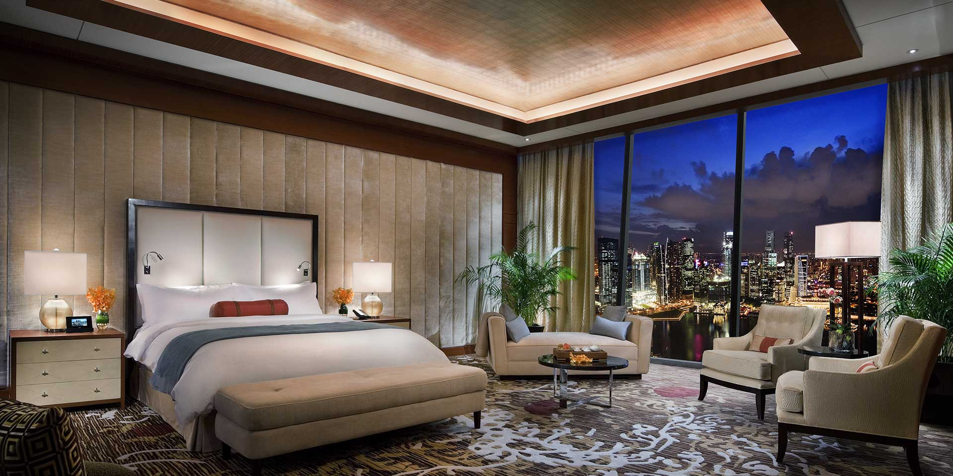 Presidential Suite   Photo Credit: Marina Bay Sands