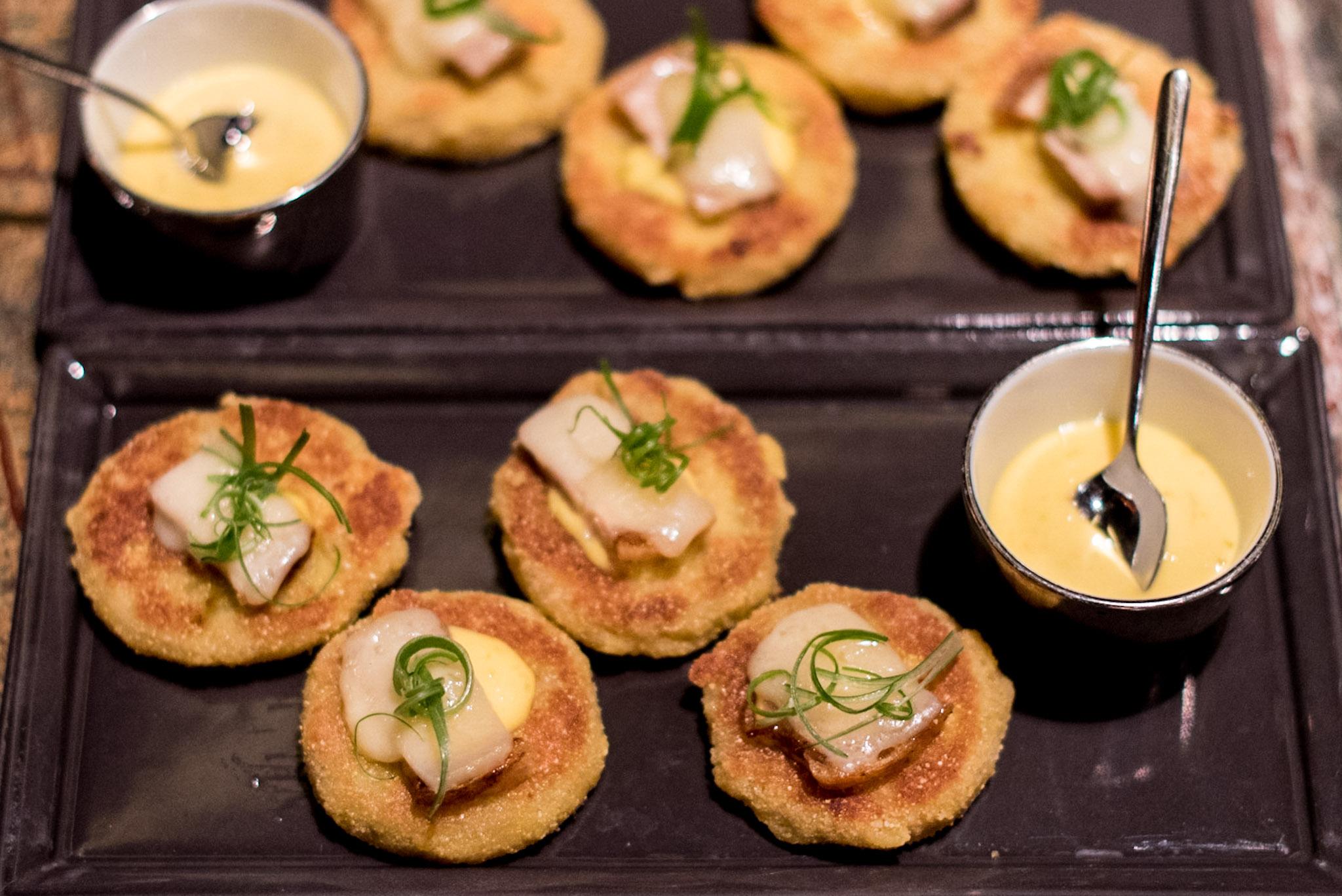 Fried Green Tomatoes (S$16++)  Manhattan - Regent Singapore