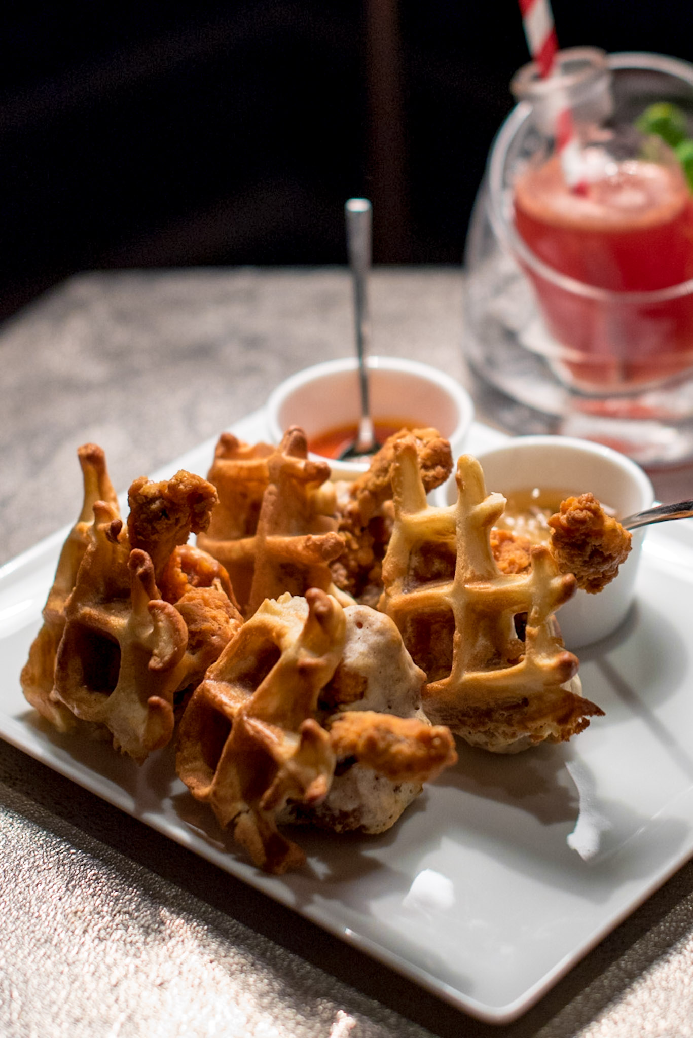 Chicken & Waffle (S$18++)   Manhattan - Regent Singapore