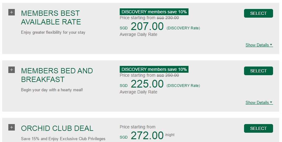 Save 10% with DISCOVERY Membership at PARKROYAL on Beach Road