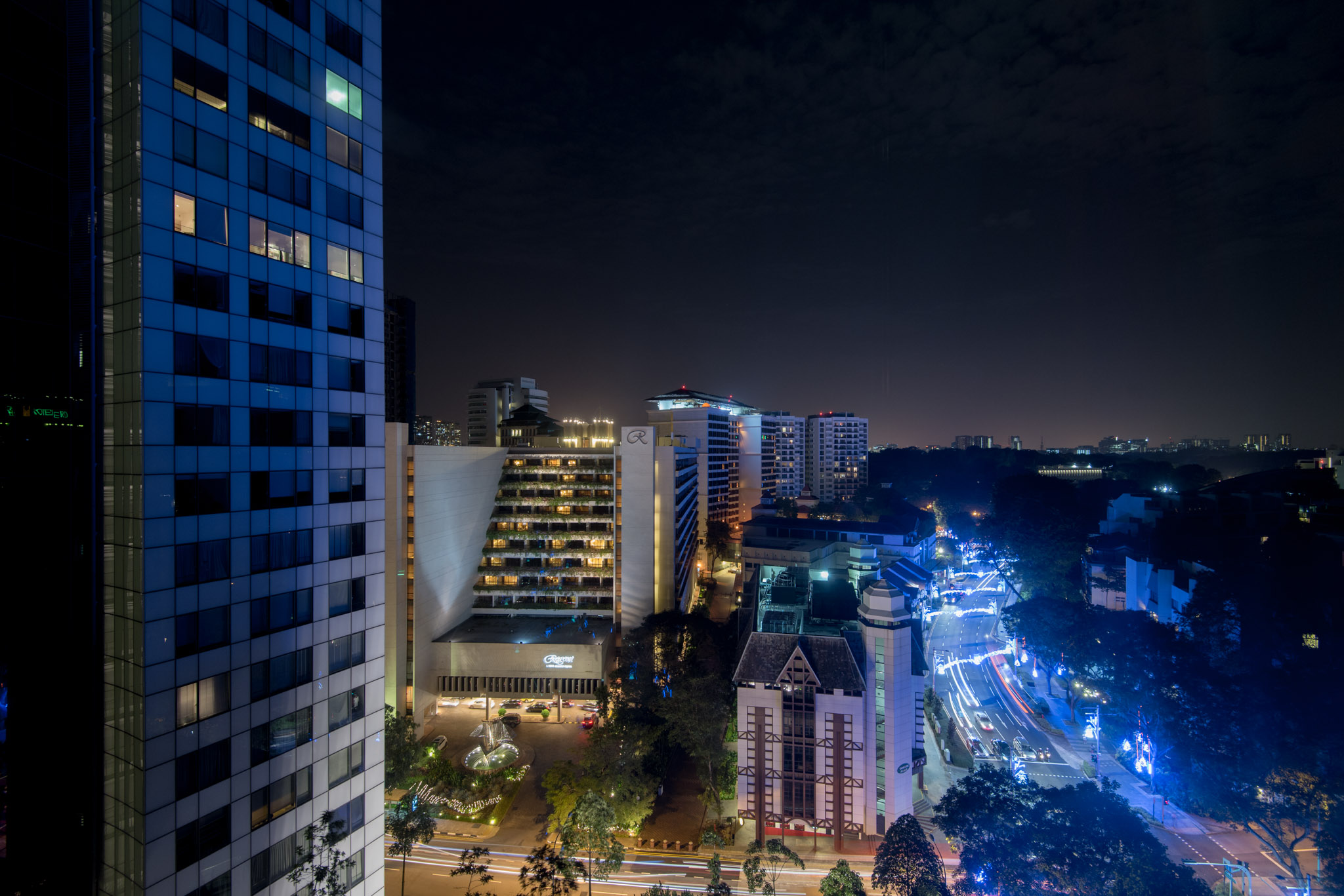 View from Room  Caroline Astor Suite - The St. Regis Singapore