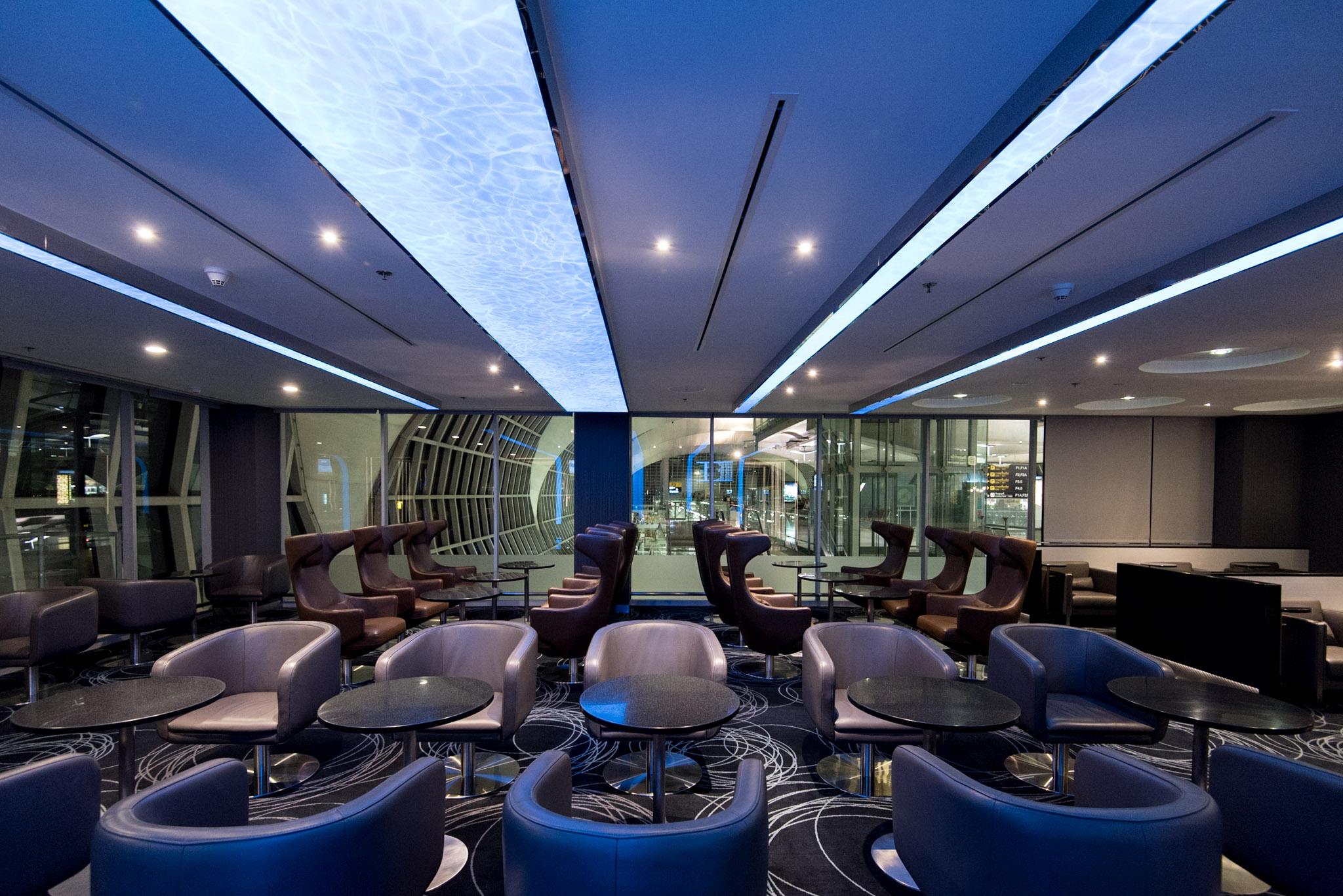 EVA Air Lounge (Star Alliance)  Bangkok Suvarnabhumi Airport