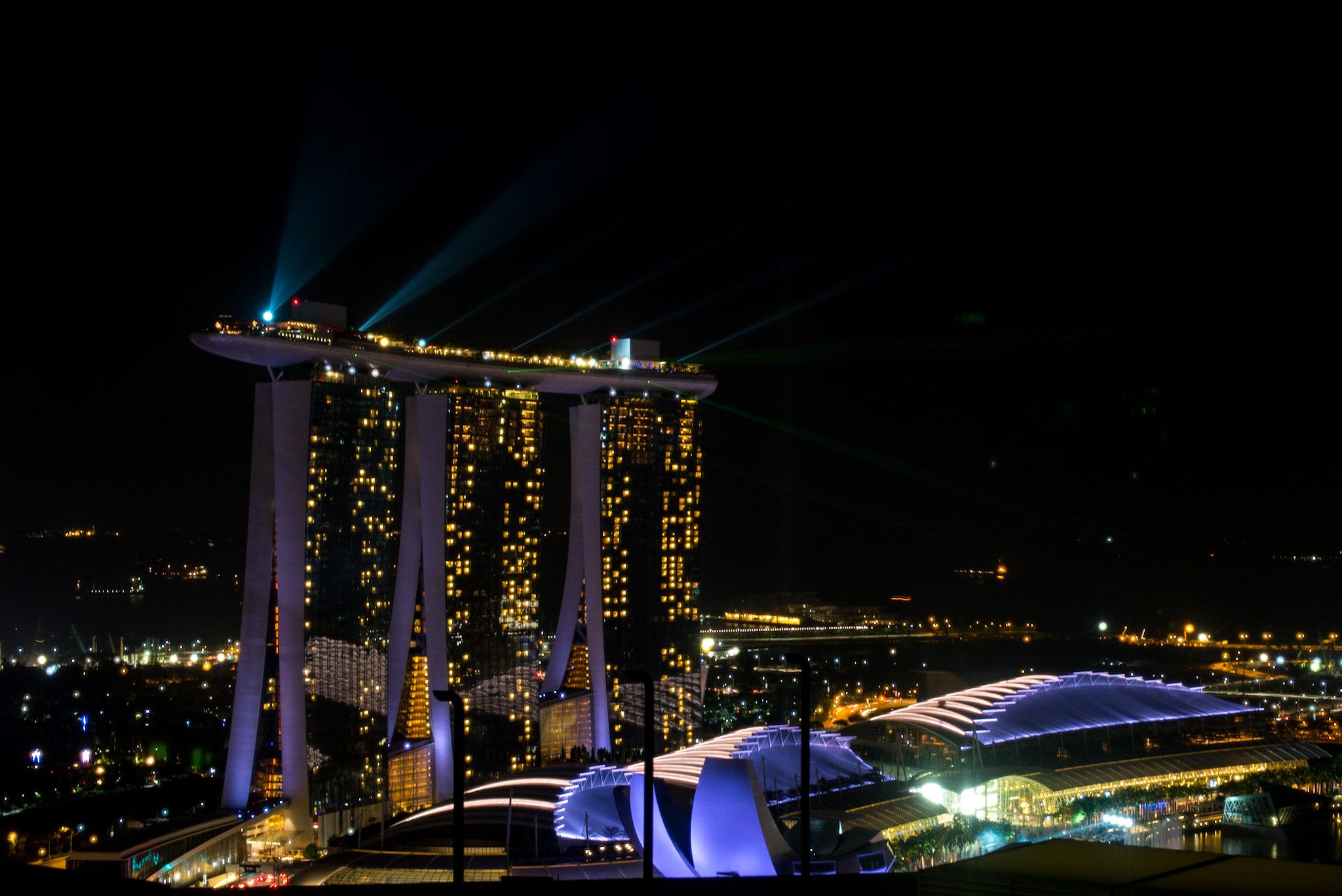 Night View     Pacific Club- Pan Pacific Singapore
