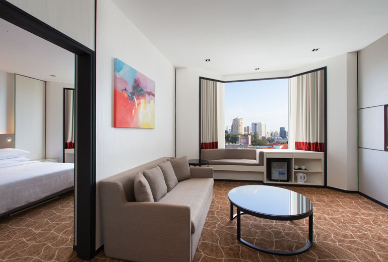 Suite City View | Photo Credit:  Four Points by Sheraton Singapore, Riverview