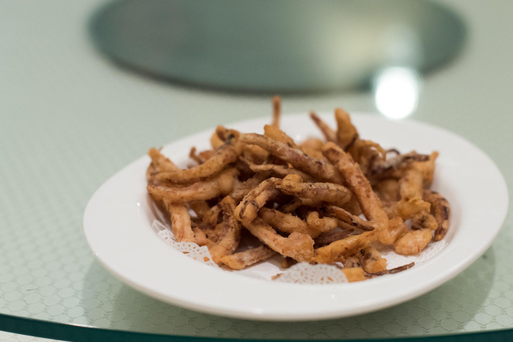 Deep-fried Octopus Tentacles   Wah Lok - Carlton Hotel Singapore