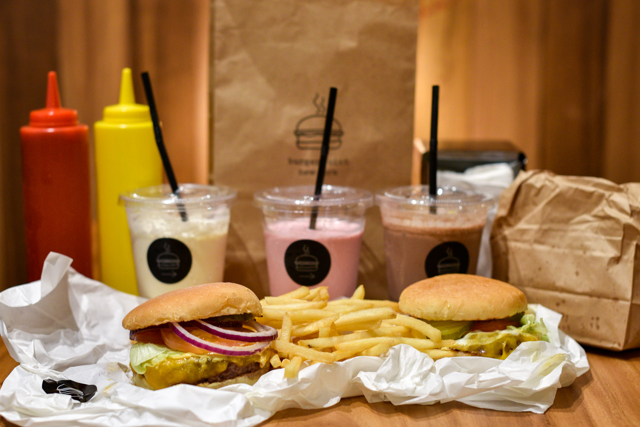 Milkshakes and Burgers  Burger Joint Singapore