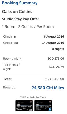 Kaligo - Pay S$2,438, Earn 27,305 Miles