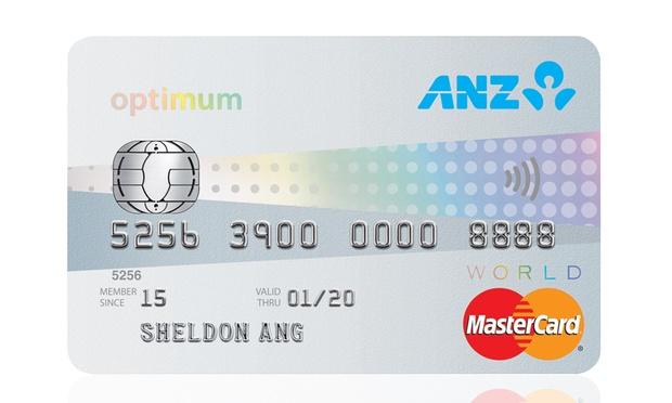 ANZ Optimum World MasterCard | Photo Credit: ANZ