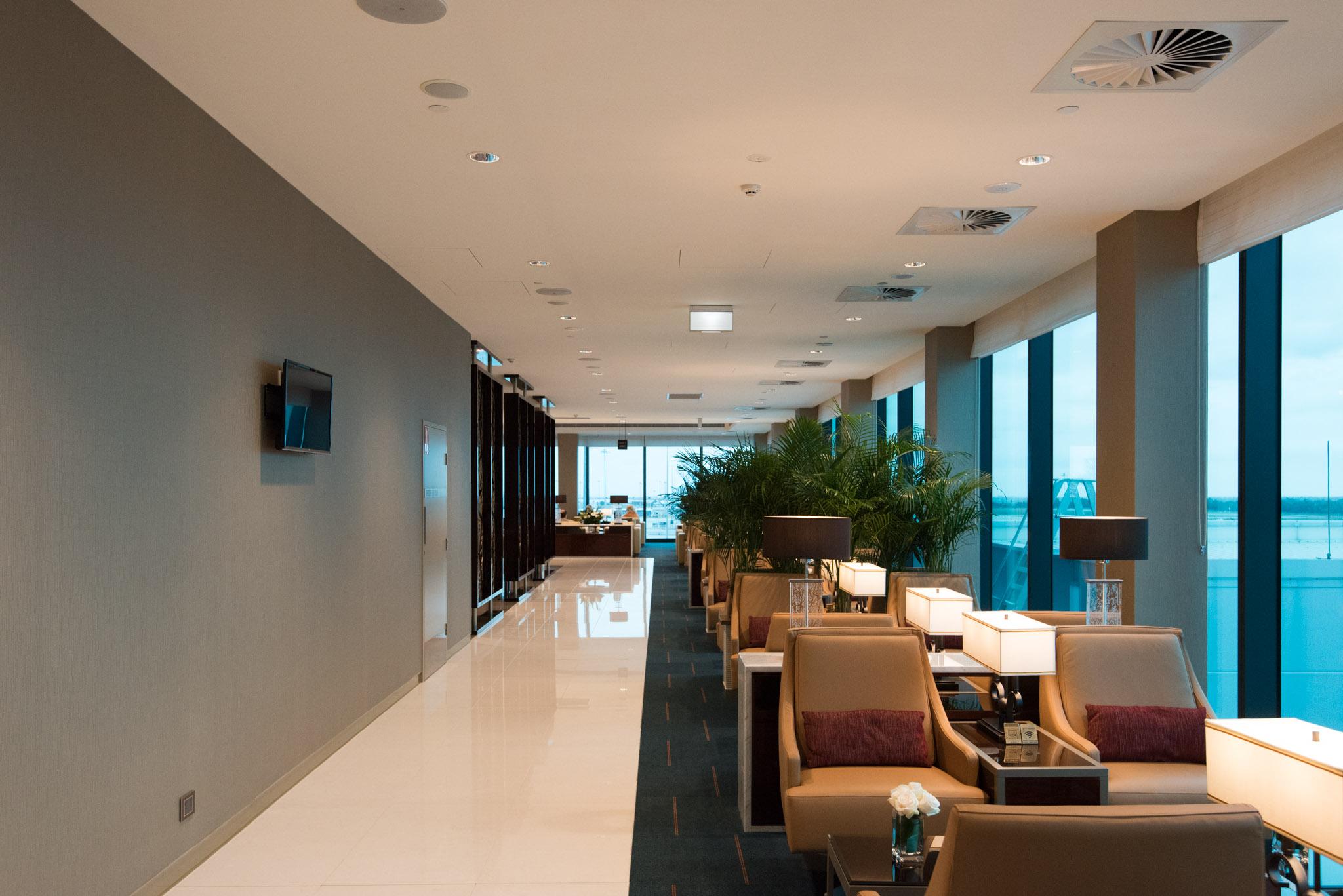 New Emirates Lounge (2016)  Melbourne Tullamarine Airport