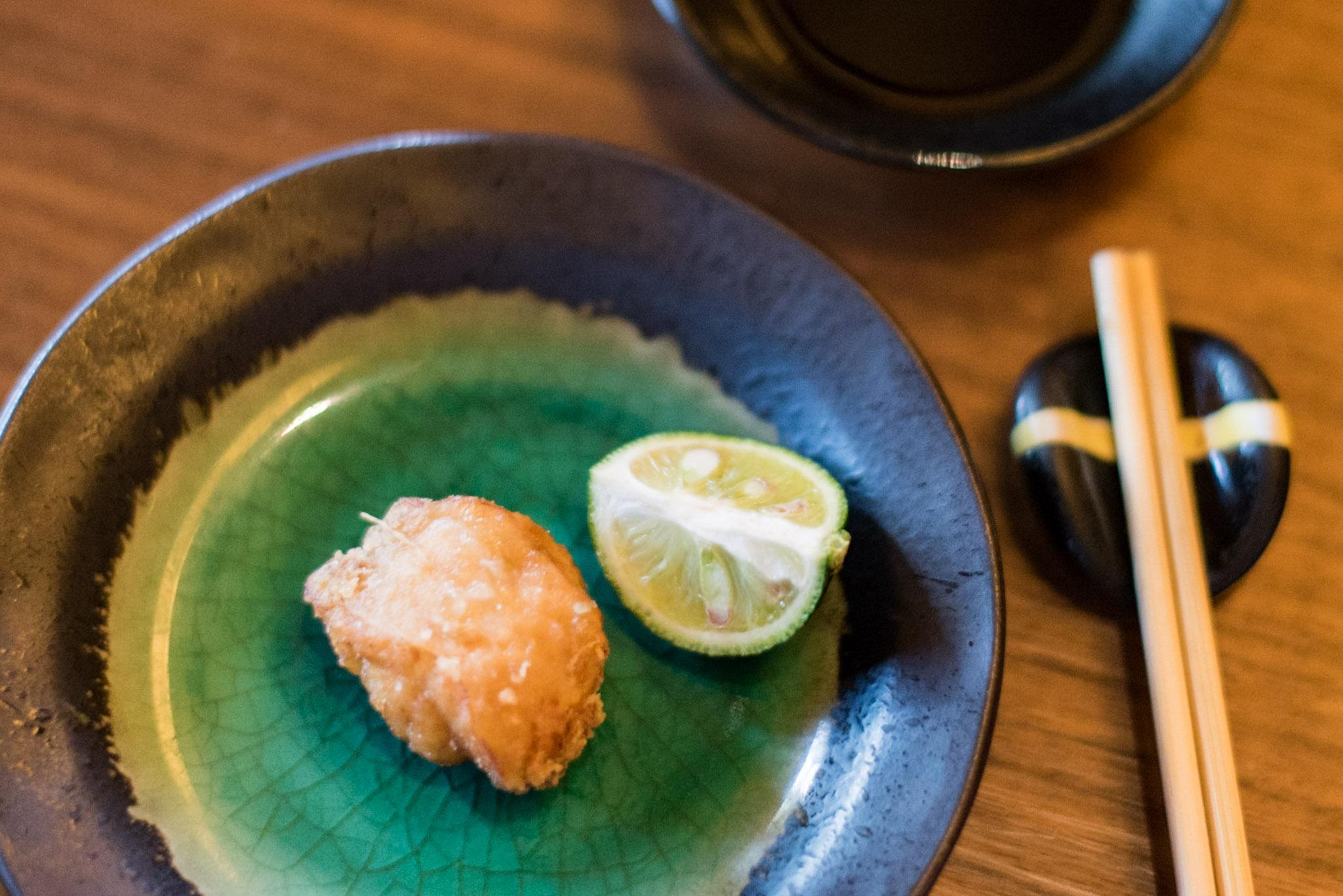 Deep-fried Puffer Fish    Keyaki - Pan Pacific Singapore