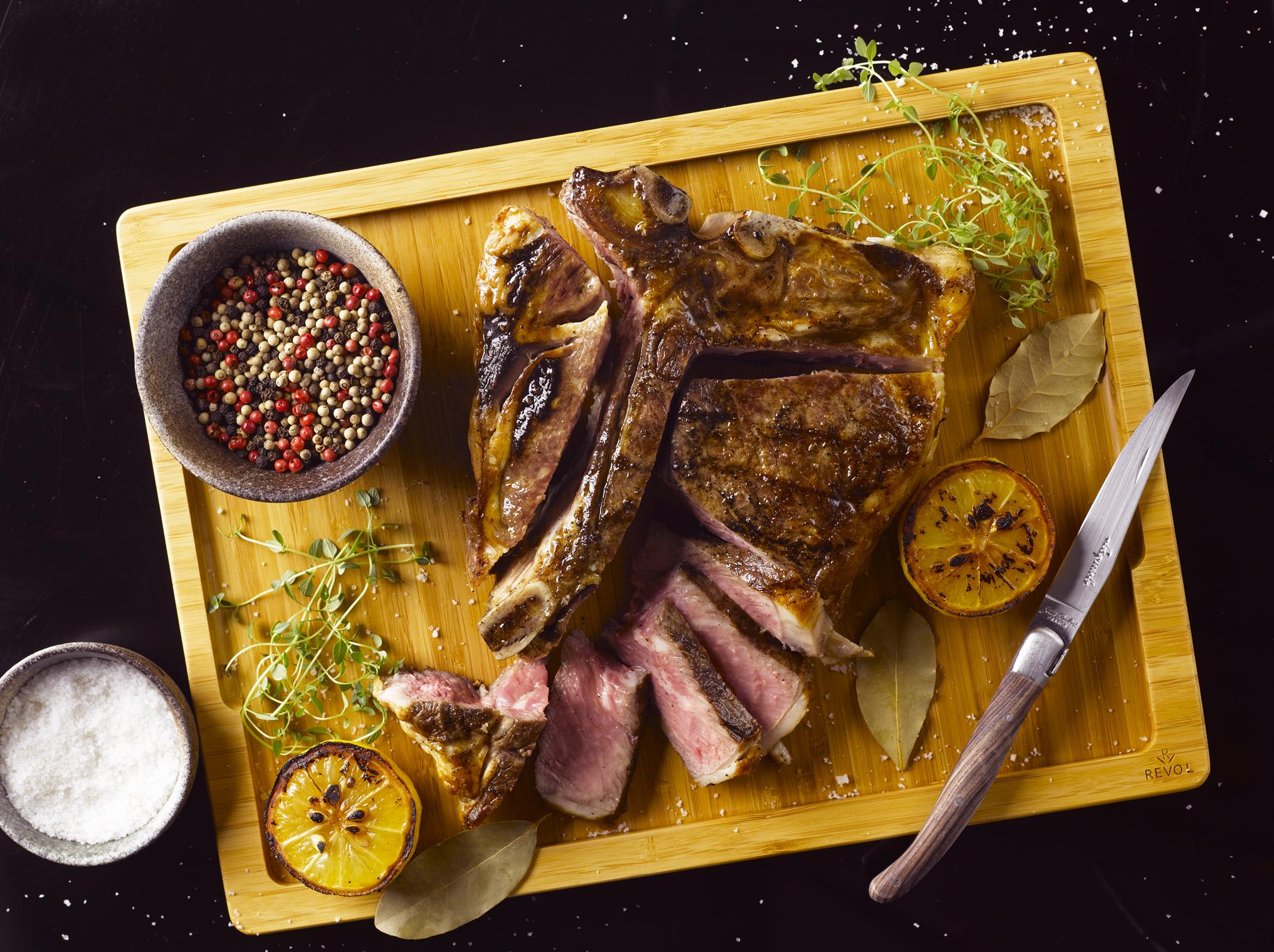 Opus T-Bone Steak | Photo Credit: Hilton Singapore