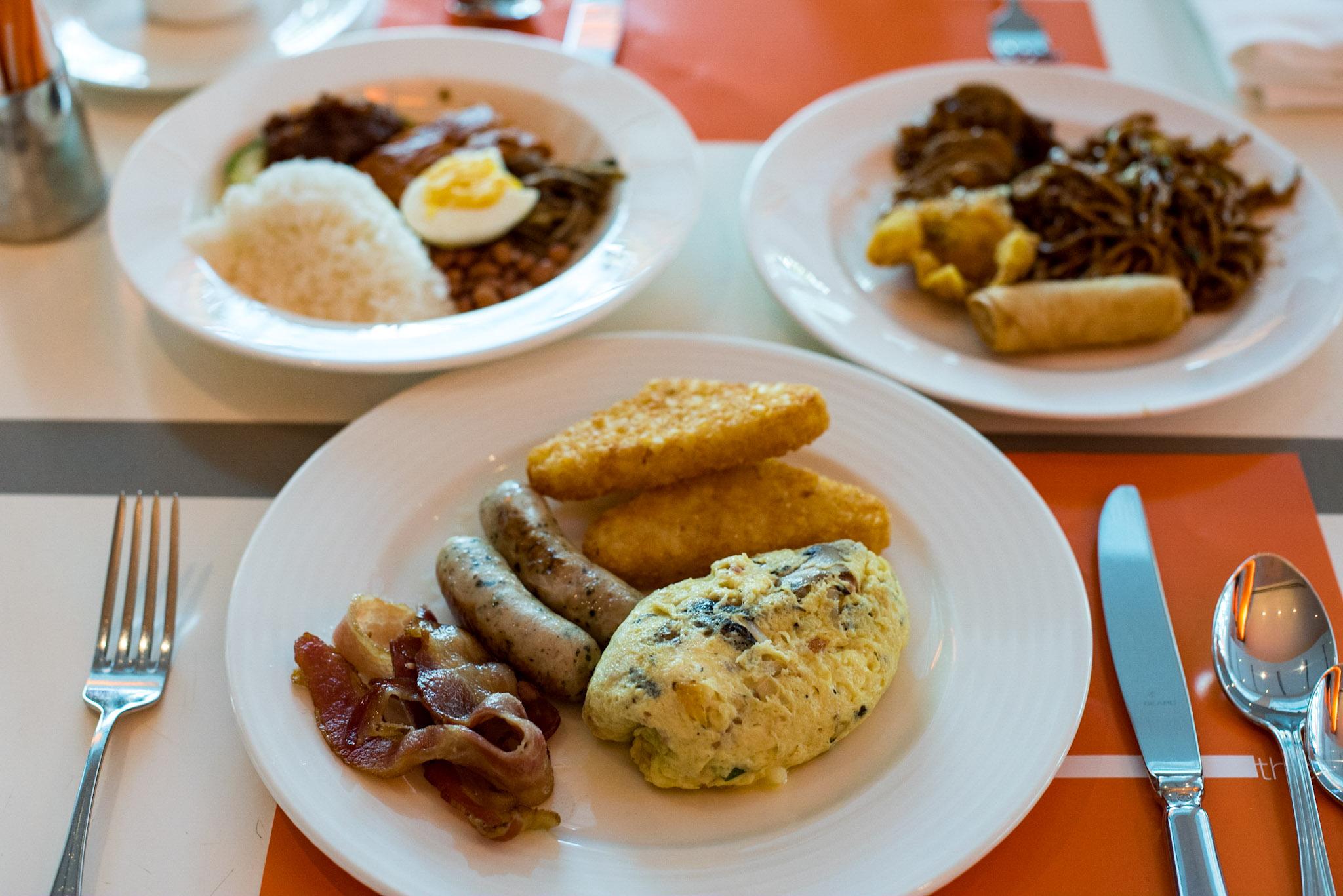 Buffet Breakfast  The Line - Shangri-La Hotel, Singapore