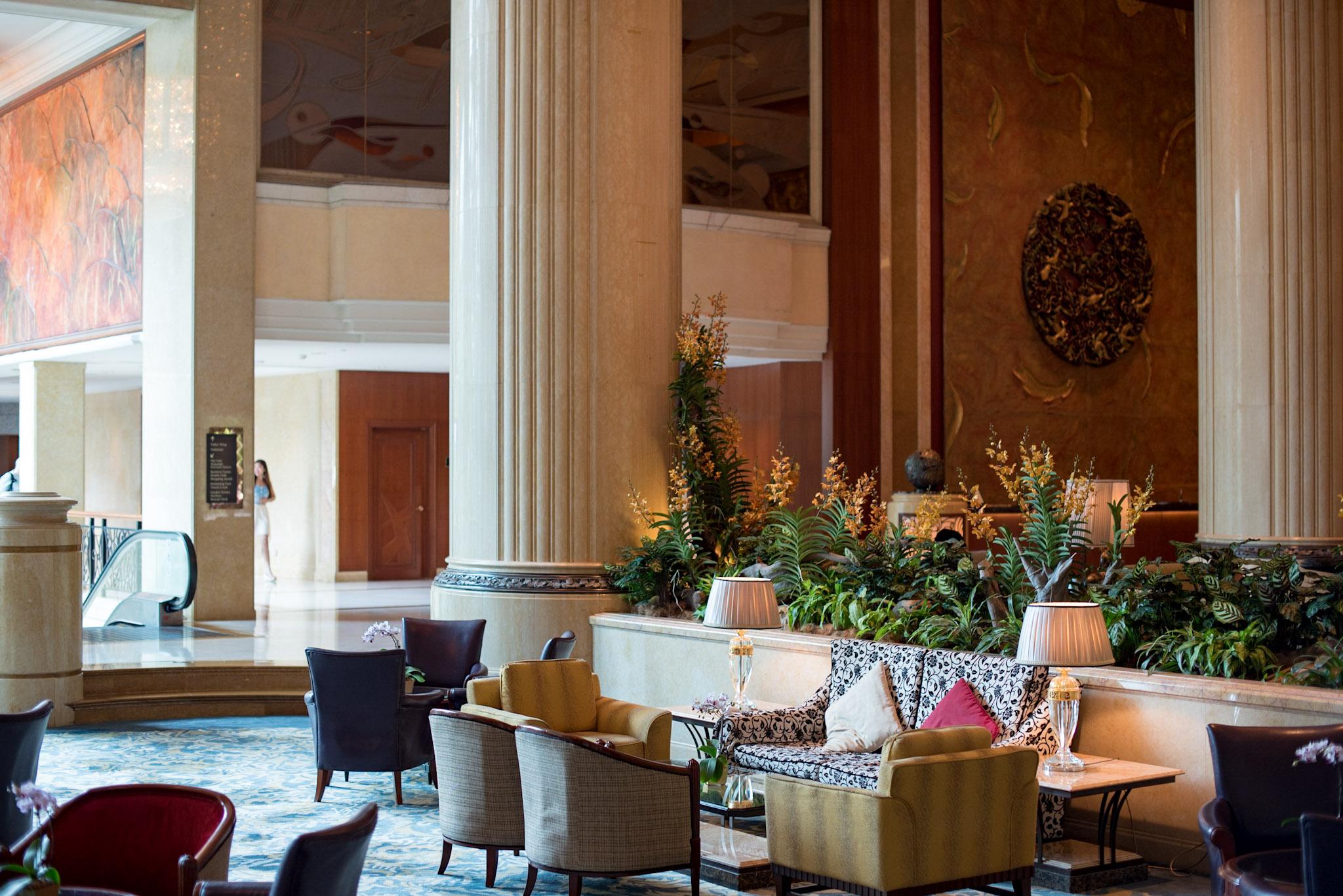 Afternoon Tea      Lobby Court - Shangri-La Hotel, Singapore