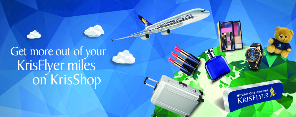Redeem KrisFlyer Miles on KrisShop | Photo Credit: Singapore Airlines