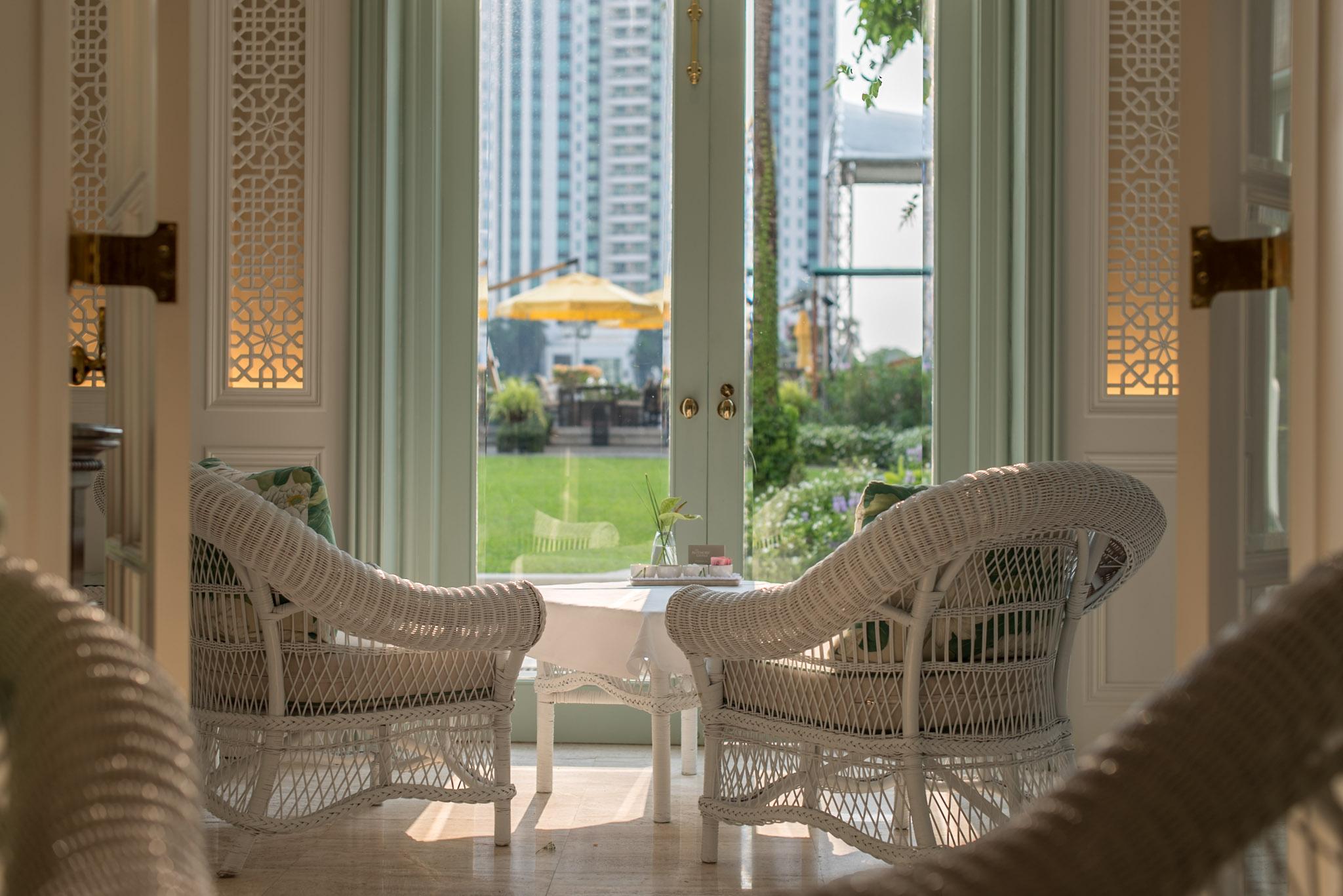 Author's Lounge    Mandarin Oriental, Bangkok