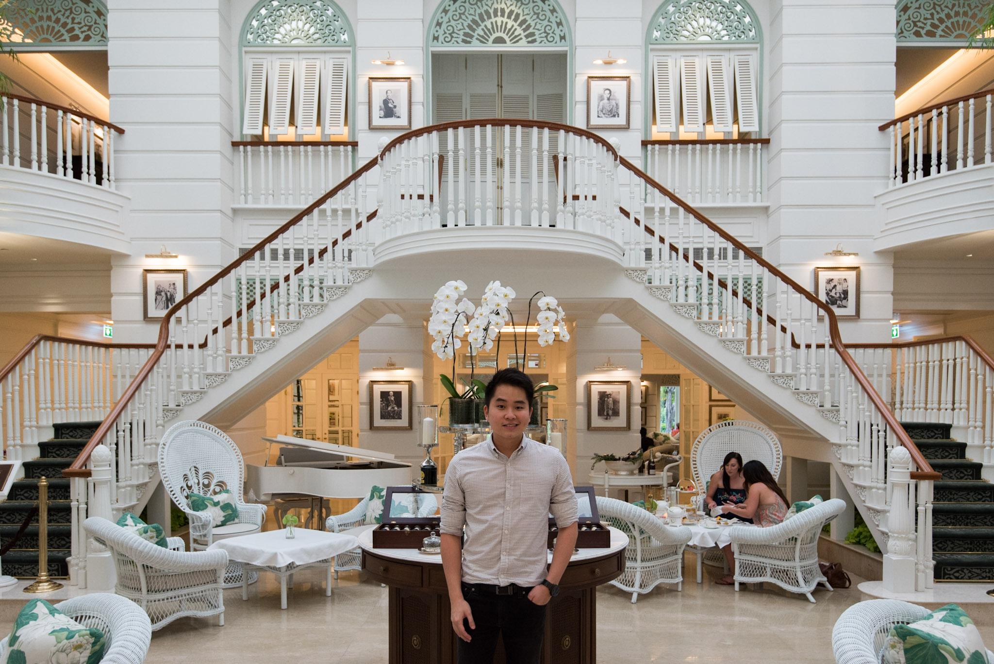 Obligatory Photo      Author's Lounge -       Mandarin Oriental, Bangkok