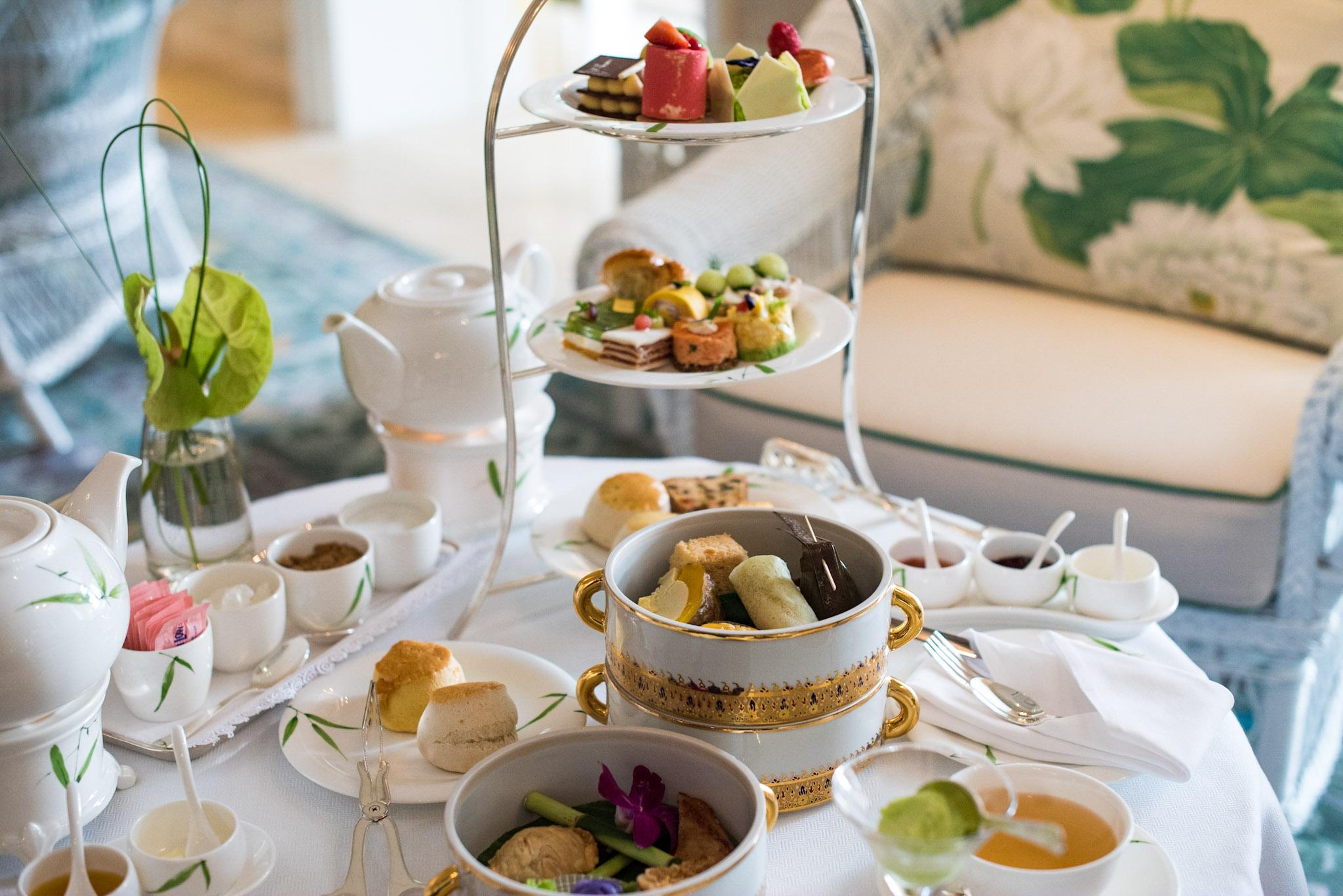 Afternoon Tea Sets (THB 1,450++ per Person)      Author's Lounge -       Mandarin Oriental, Bangkok