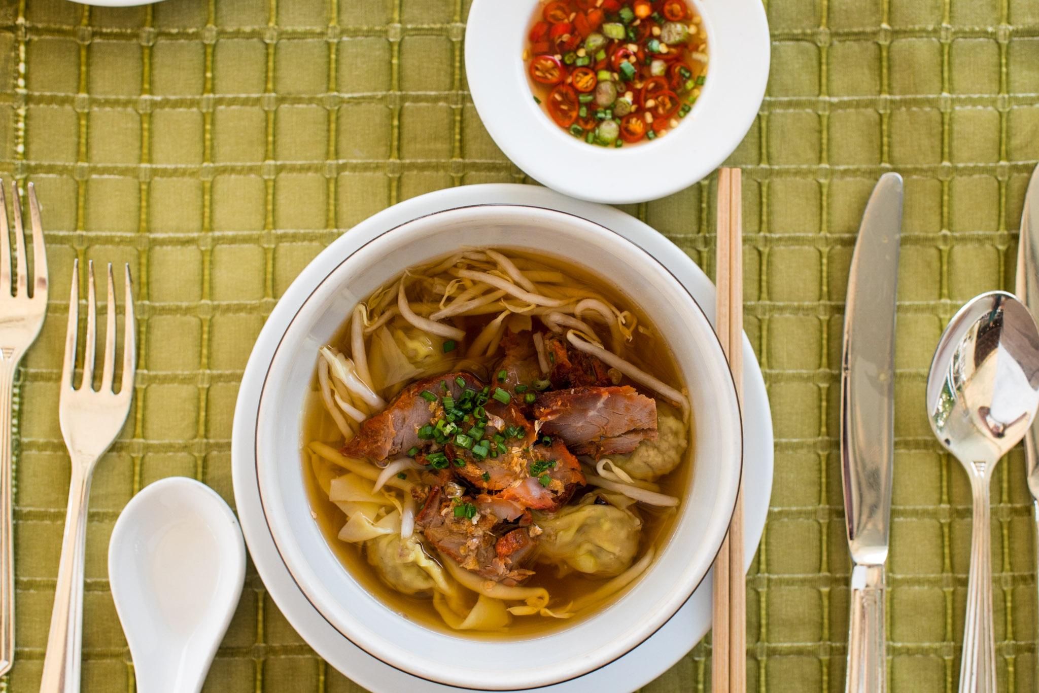 Breakfast at the Riverside Terrace  Mandarin Oriental, Bangkok