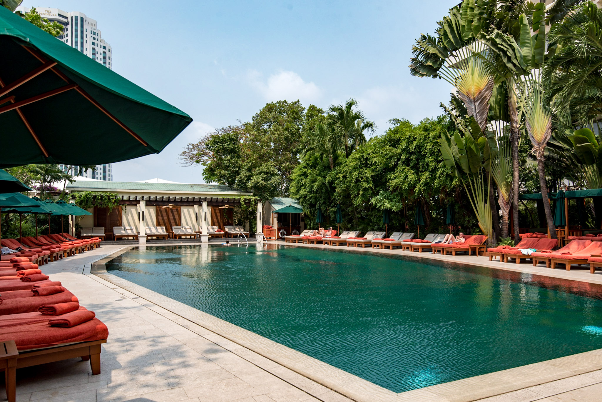 Swimming Pool  Mandarin Oriental, Bangkok