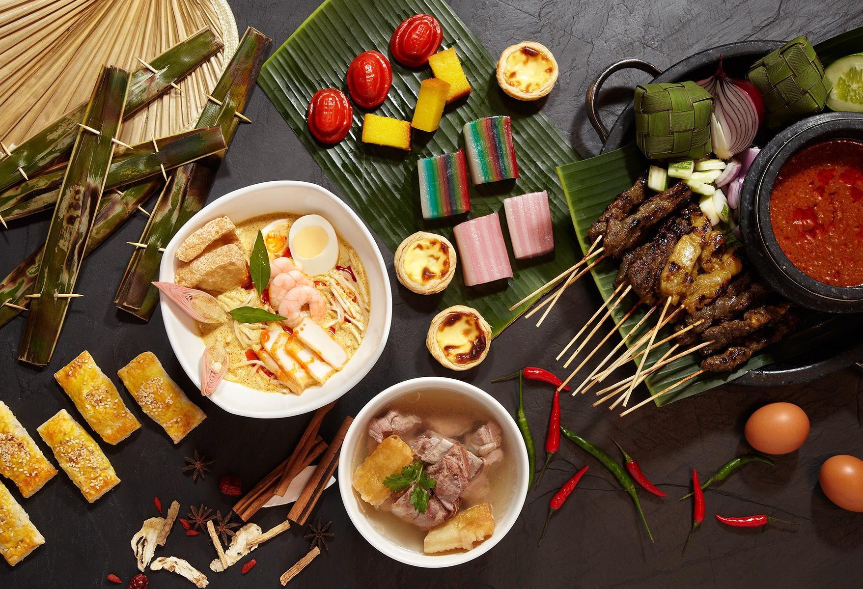 National Day Heritage Dinner Buffet | Photo Credit: Pan Pacific Singapore
