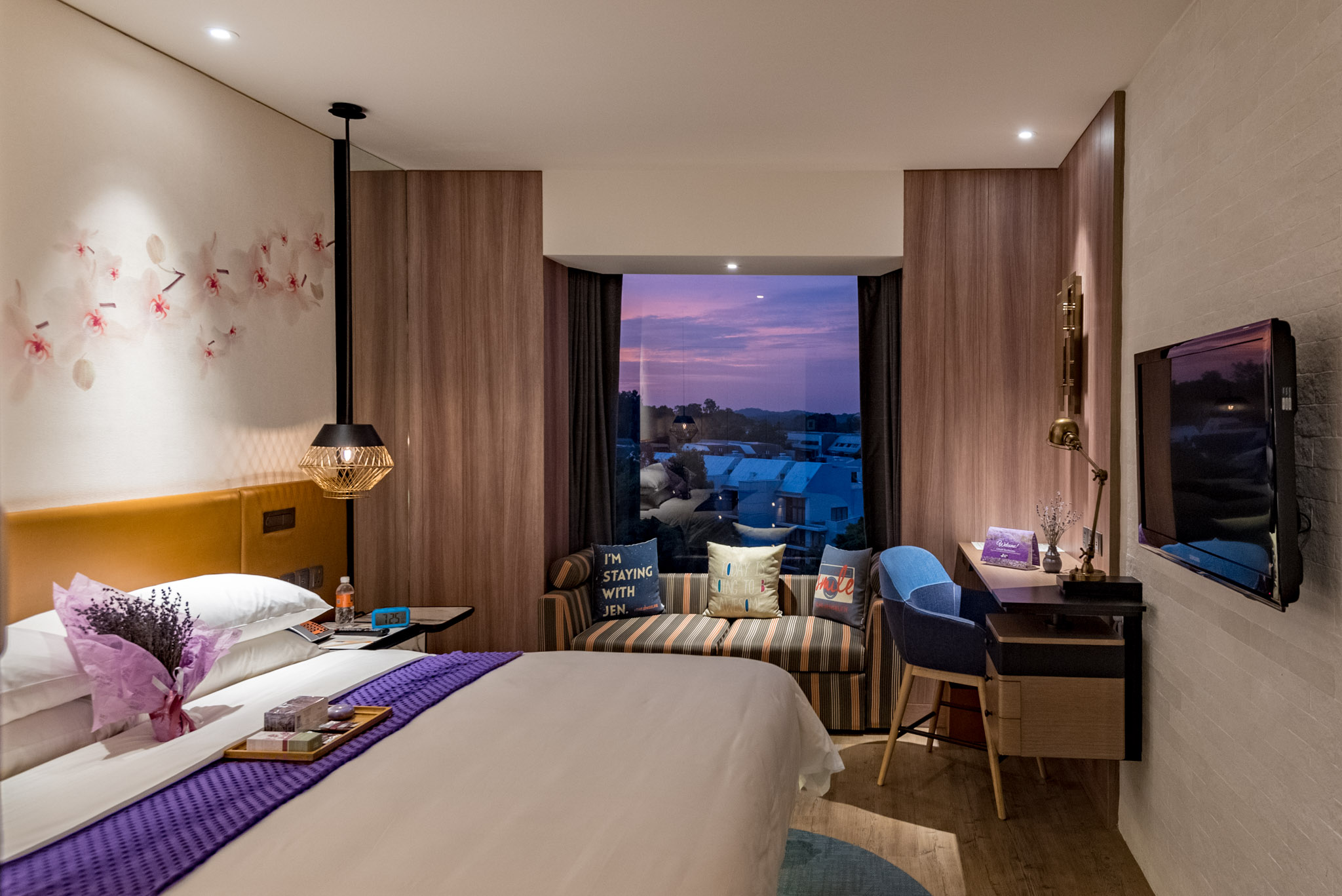 Lavender Spa Staycation at Hotel Jen Tanglin Singapore
