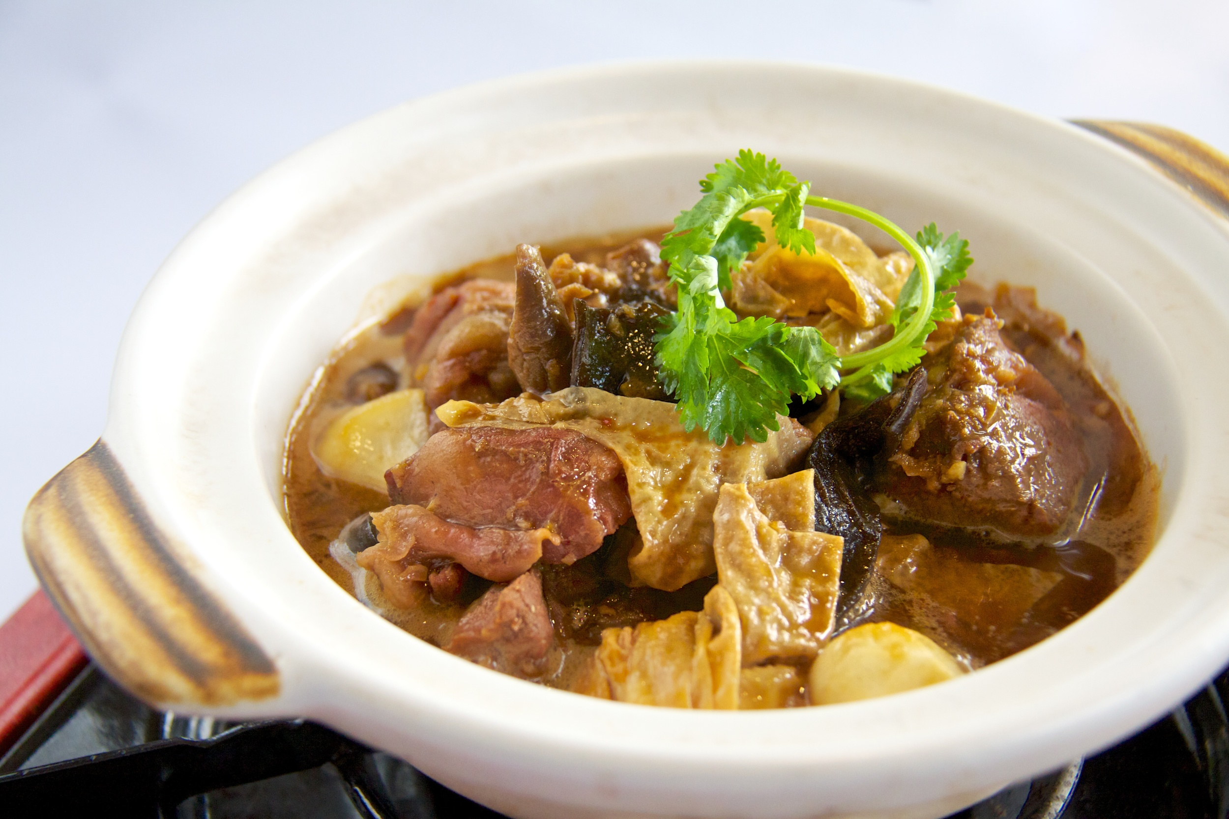 Lamb Casserole } Photo Credit: Mandarin Oriental, Singapore