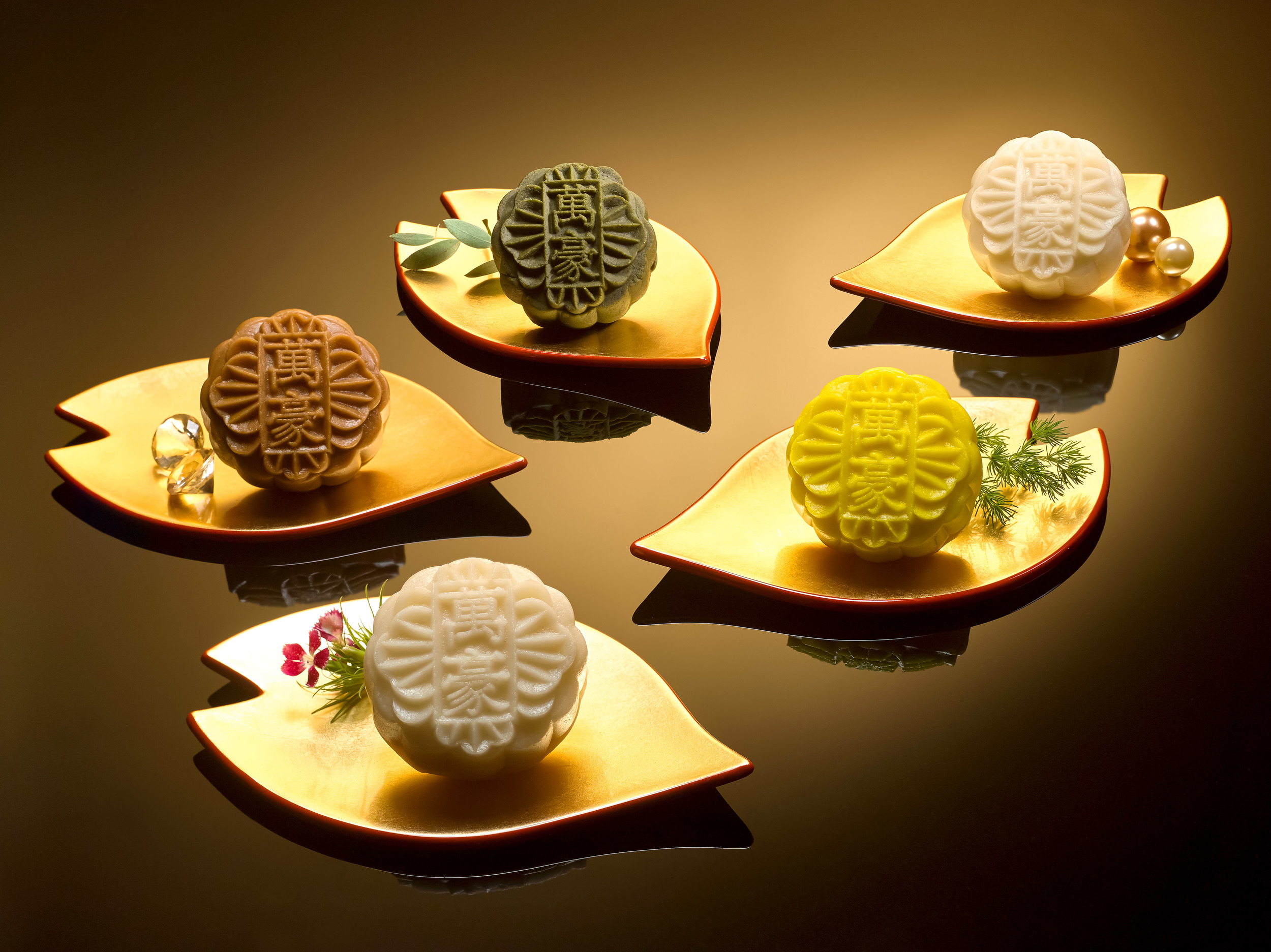 Assorted Snowskin Mooncakes   Photo Credit: Singapore Marriott Tang Plaza Hotel