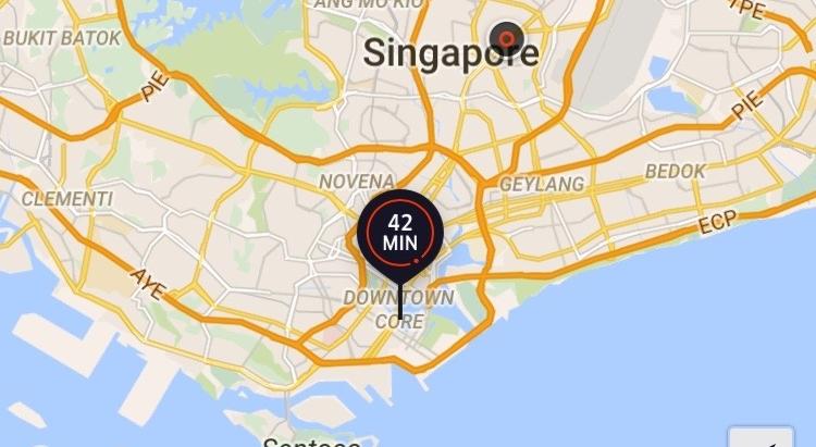 uberPOOL in Singapore