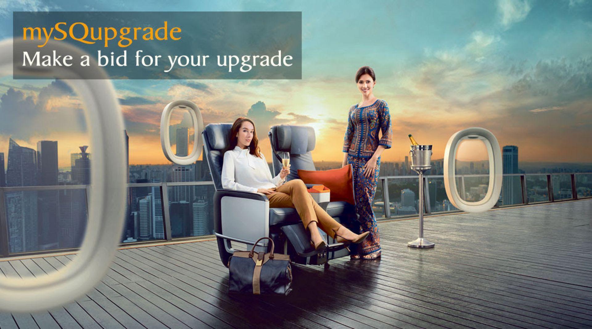 mySQupgrade | Photo Credit: Singapore Airlines