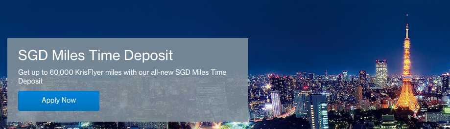 SGD Miles Time Deposit   Photo Credit: Standard Chartered