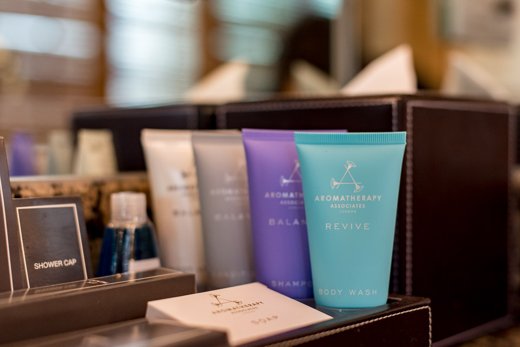 Bathroom Amenities - Aromatherapy Associates  Executive Suite - Conrad Bangkok