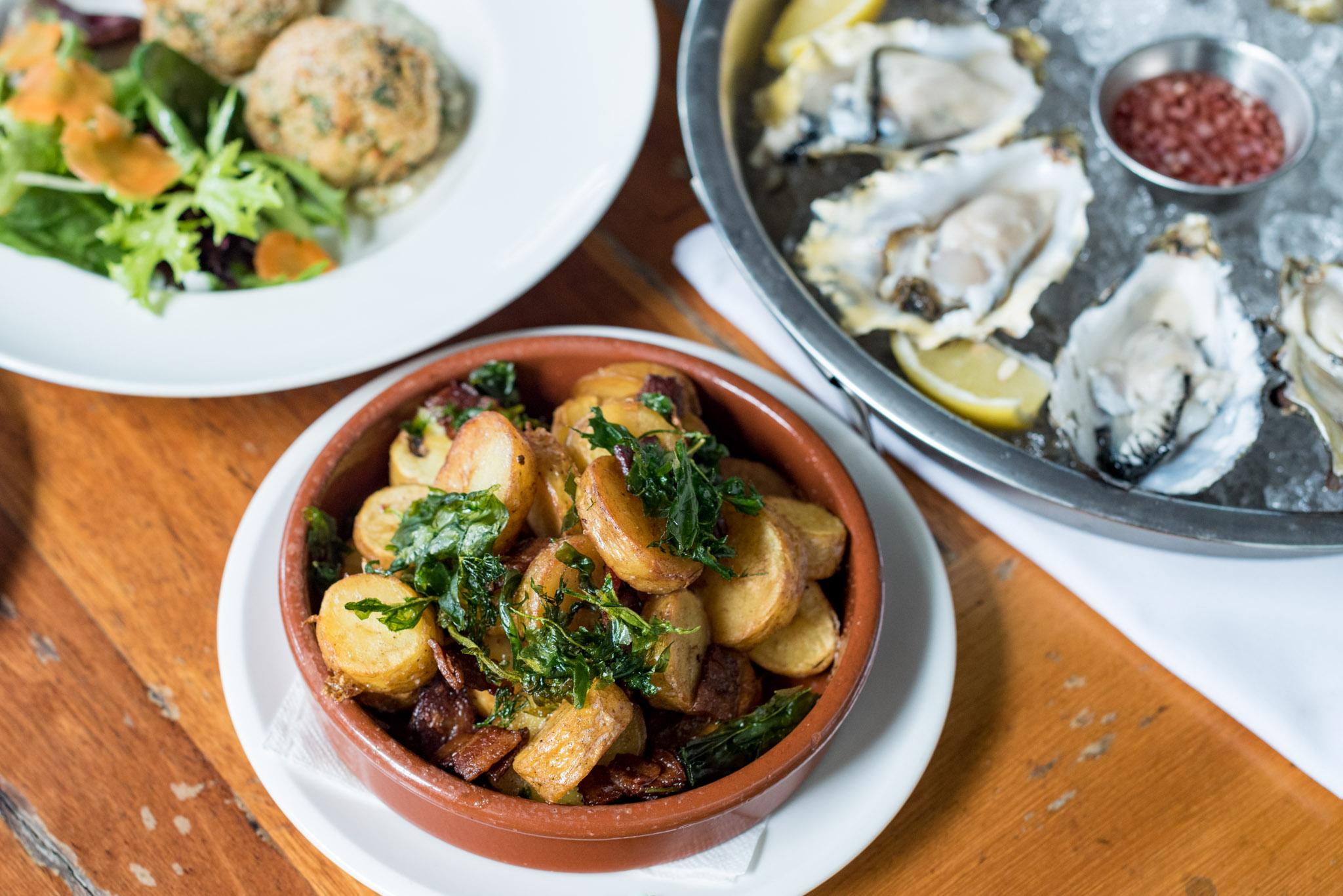 Bacon Potato Hash (S$16++)  Saturday Brunch - The Pelican Seafood Bar & Grill