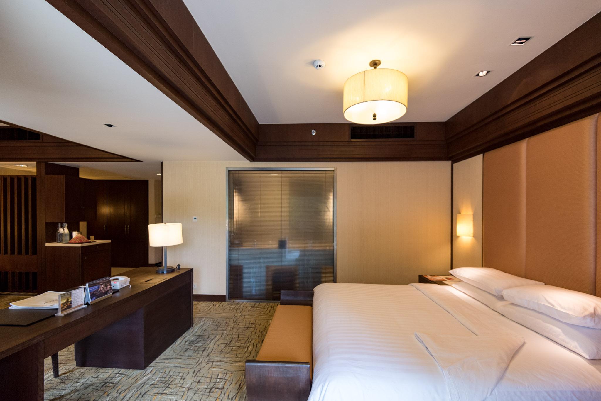 Bedroom - Rasa Premier Room     Rasa Wing -  Shangri-La's Rasa Sayang Resort & Spa, Penang