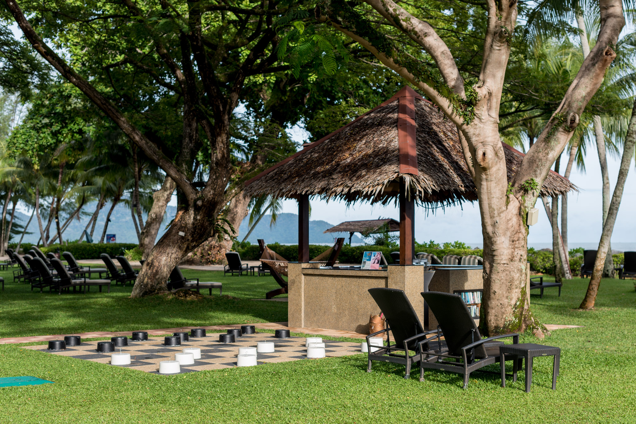 Outdoor Chess    Shangri-La's Rasa Sayang Resort & Spa, Penang