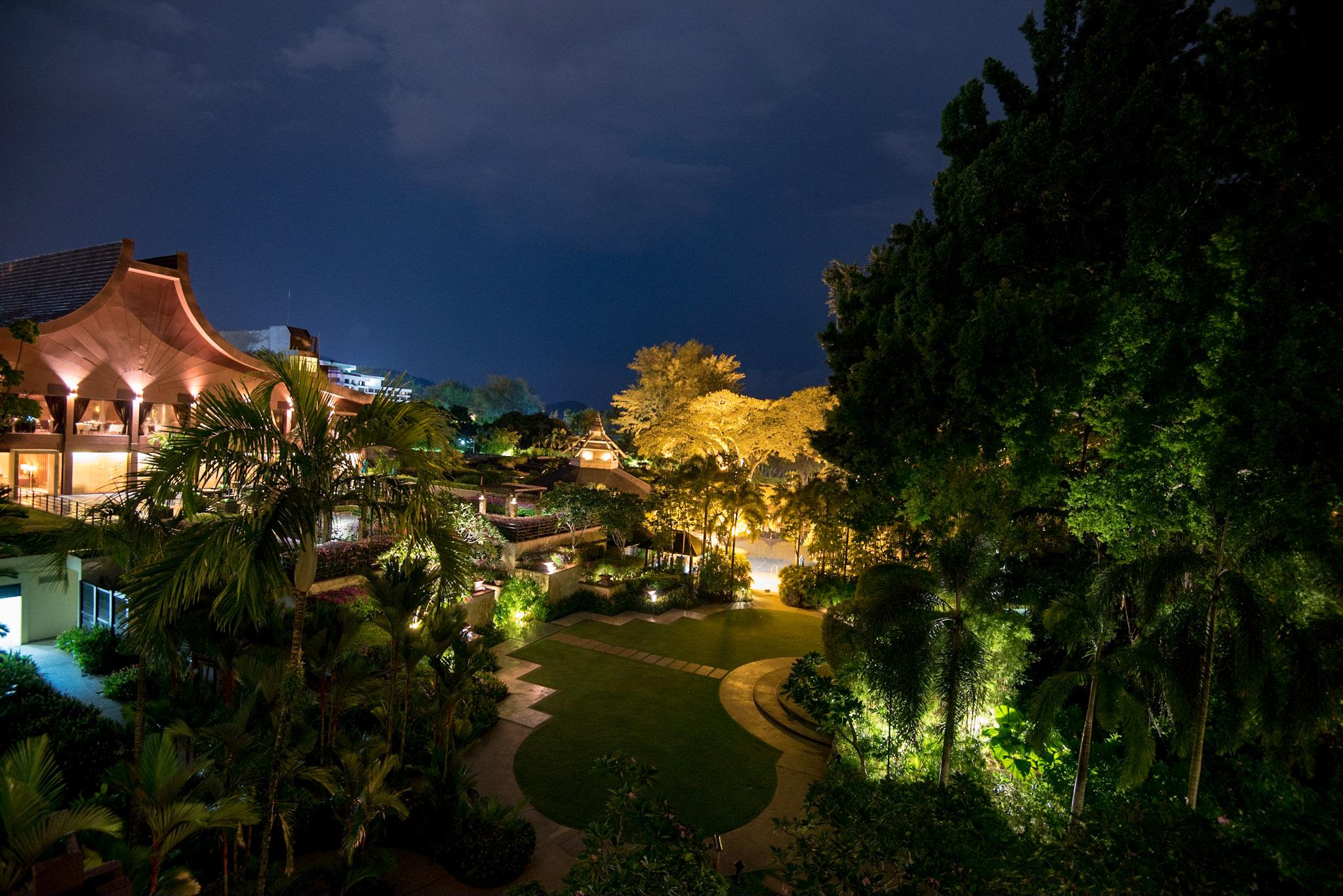 View from Rasa Premier Room     Rasa Wing -  Shangri-La's Rasa Sayang Resort & Spa, Penang
