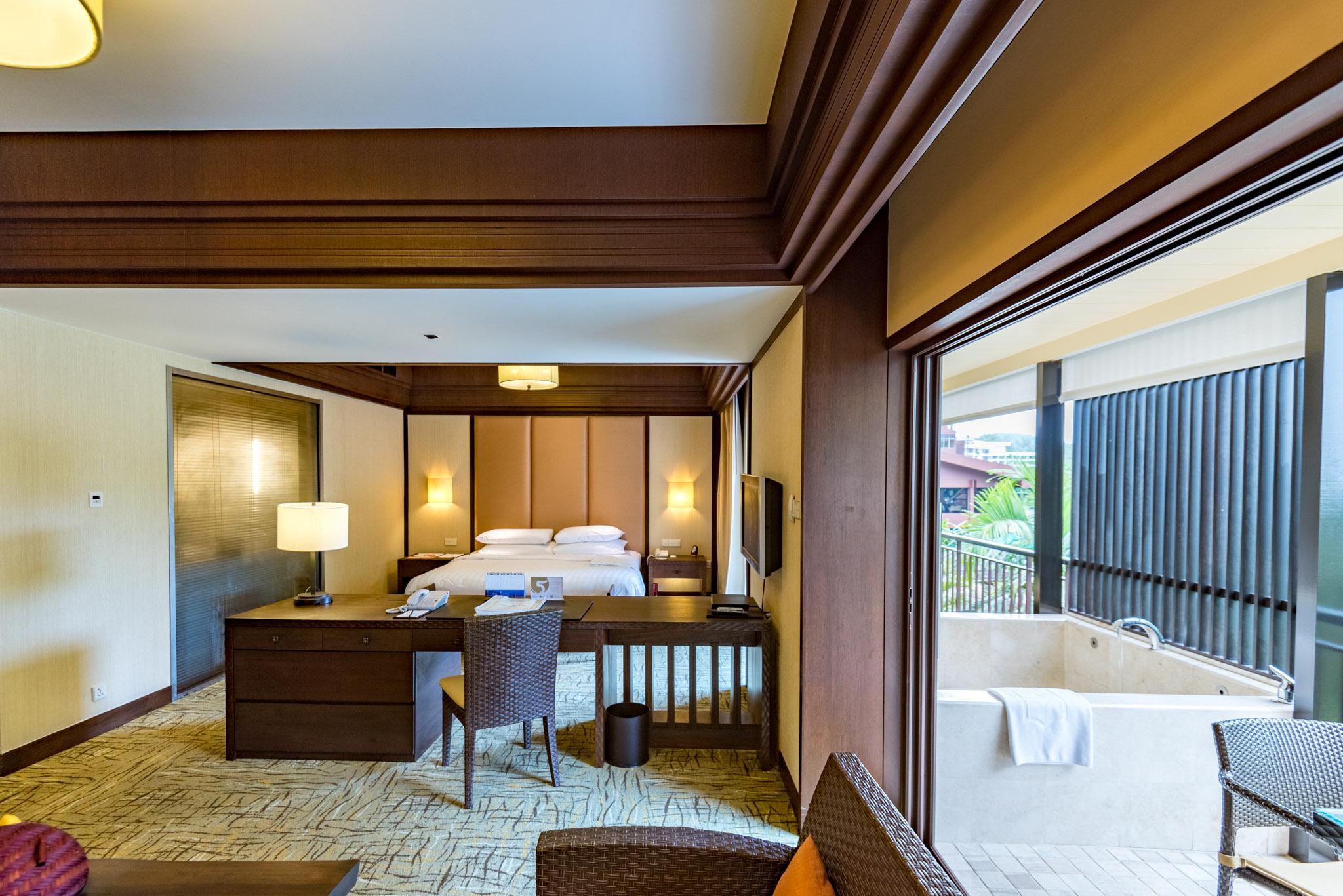 Open Plan - Rasa Premier Room    Rasa Wing -  Shangri-La's Rasa Sayang Resort & Spa, Penang
