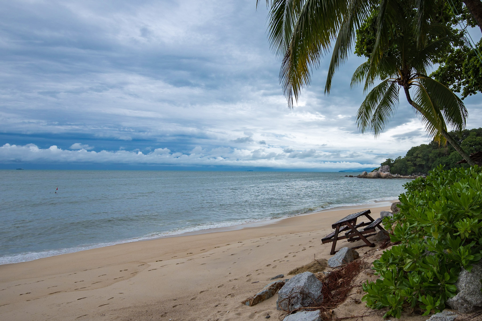 Beach   Shangri-La's Rasa Sayang Resort & Spa, Penang